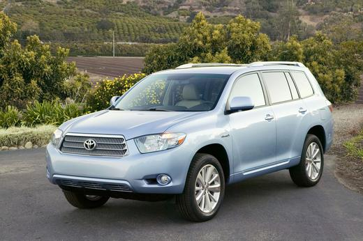 TOYOTA HIGHLANDER PICTURE