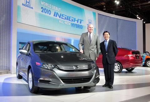 Honda Insight Debut
