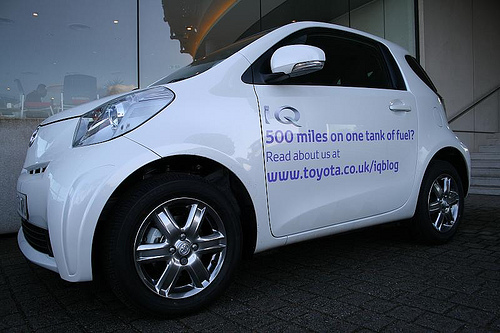 Toyota iQ Ecodriving