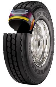 Goodyear Tire Cutaway