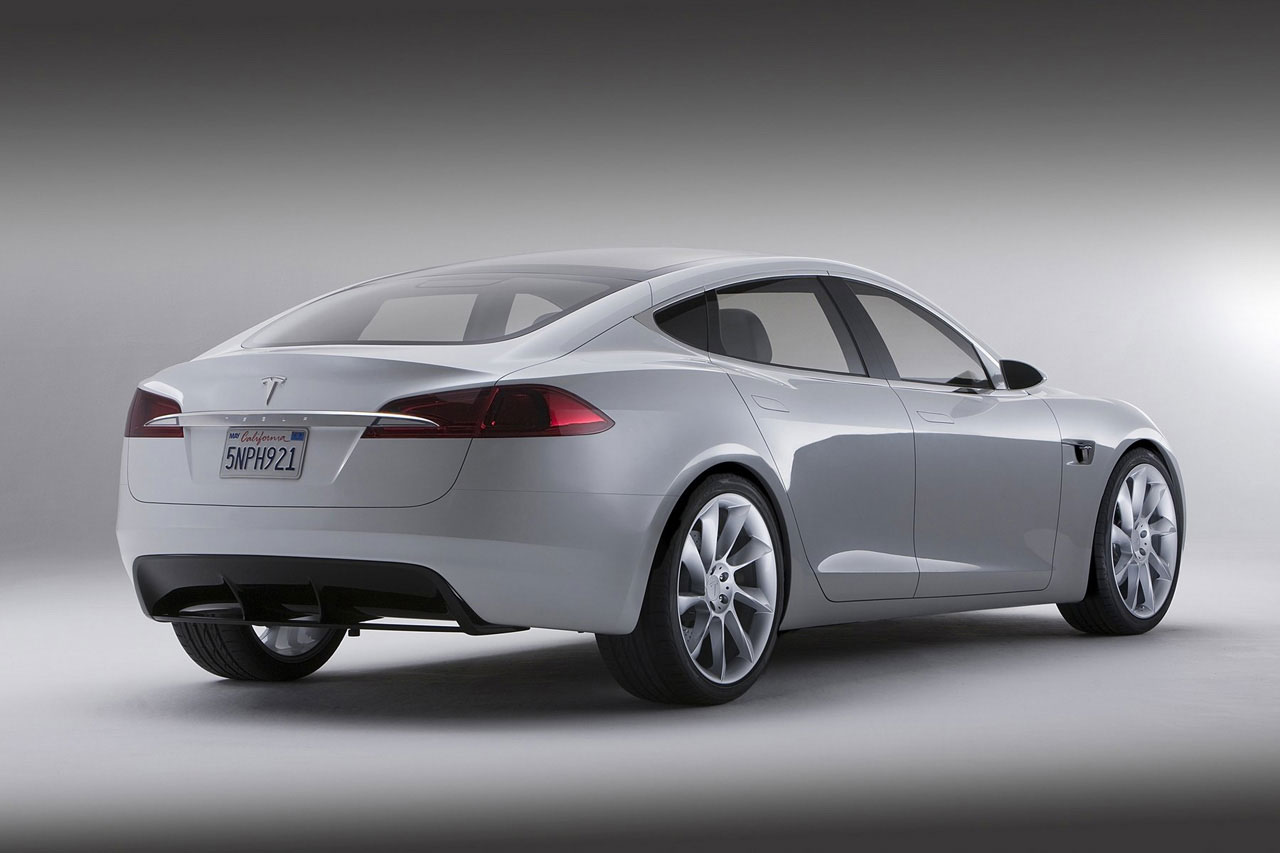Blue Book Automobile Prices Tesla Model S: $50,000 Electric Car that Seats Seven