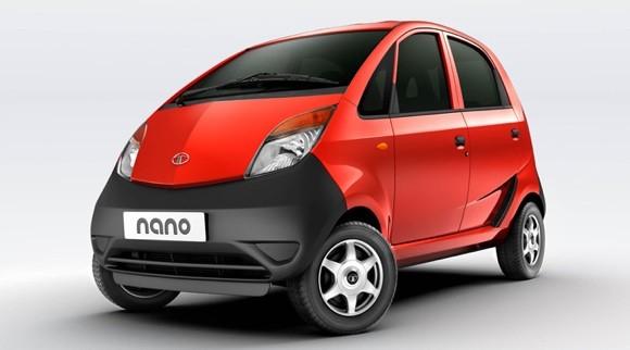 Red Tata Nano