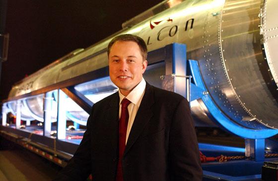 Elon Musk Gary Johnson