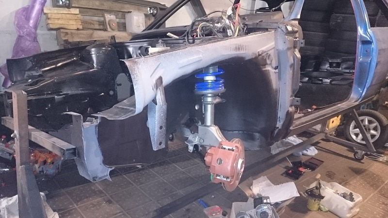 Project: VW Polo 86C with under 3l/100km