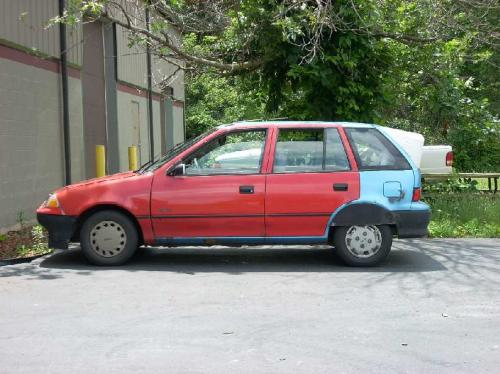 Details: the metro experience (retired) - 1994 geo metro 4 dr HB Fuel
