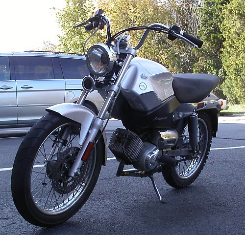 Details: Numb Nuts - 2007 Tomos Streetmate Fuel Economy