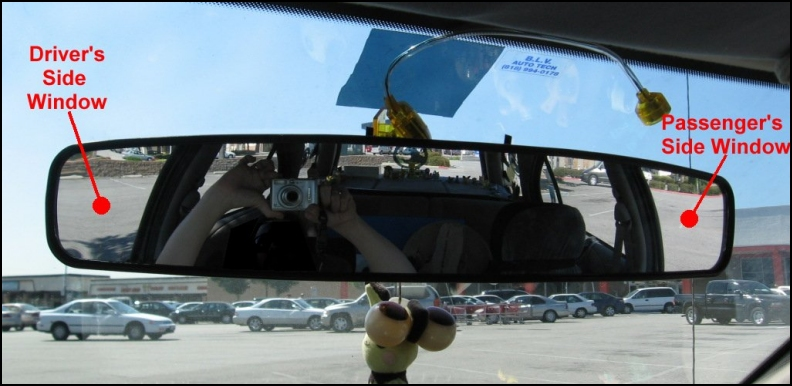Large Rear View Mirror Style Rear View Mirrors