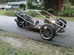 My reverse trike project