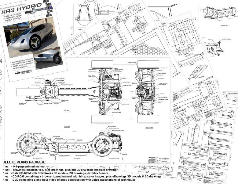 Interesting Aerodynamic Cars (Mike Vetter\'s ETV, also Avion) - Page ...