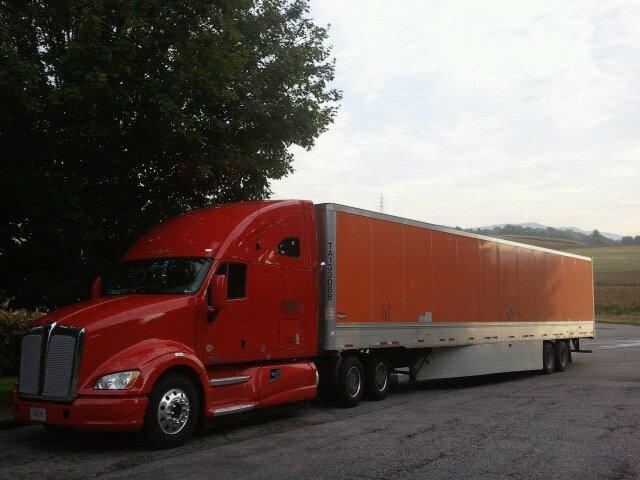 Aerodynamic Tractor Trailer : Mpg aerodynamic tractor trailer fuel economy