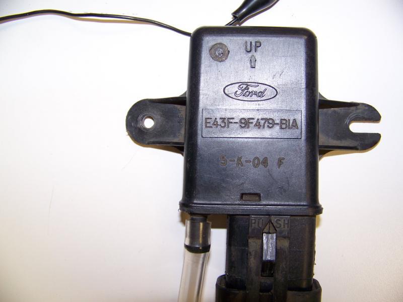 Ford Aerostar MAP Sensor Part Number E43F 9F479 B1A