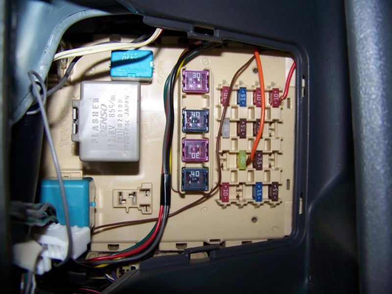 toyota echo fuse box wiring diagram  echo fuse box #14