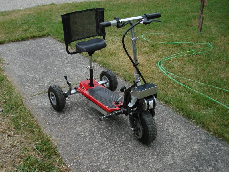 Lightweight Mobility Scooter Build Fuel Economy
