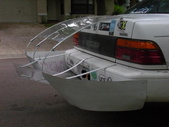 Toyota Corolla, boat tail - Fuel Economy, Hypermiling