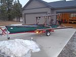 Gas free boat