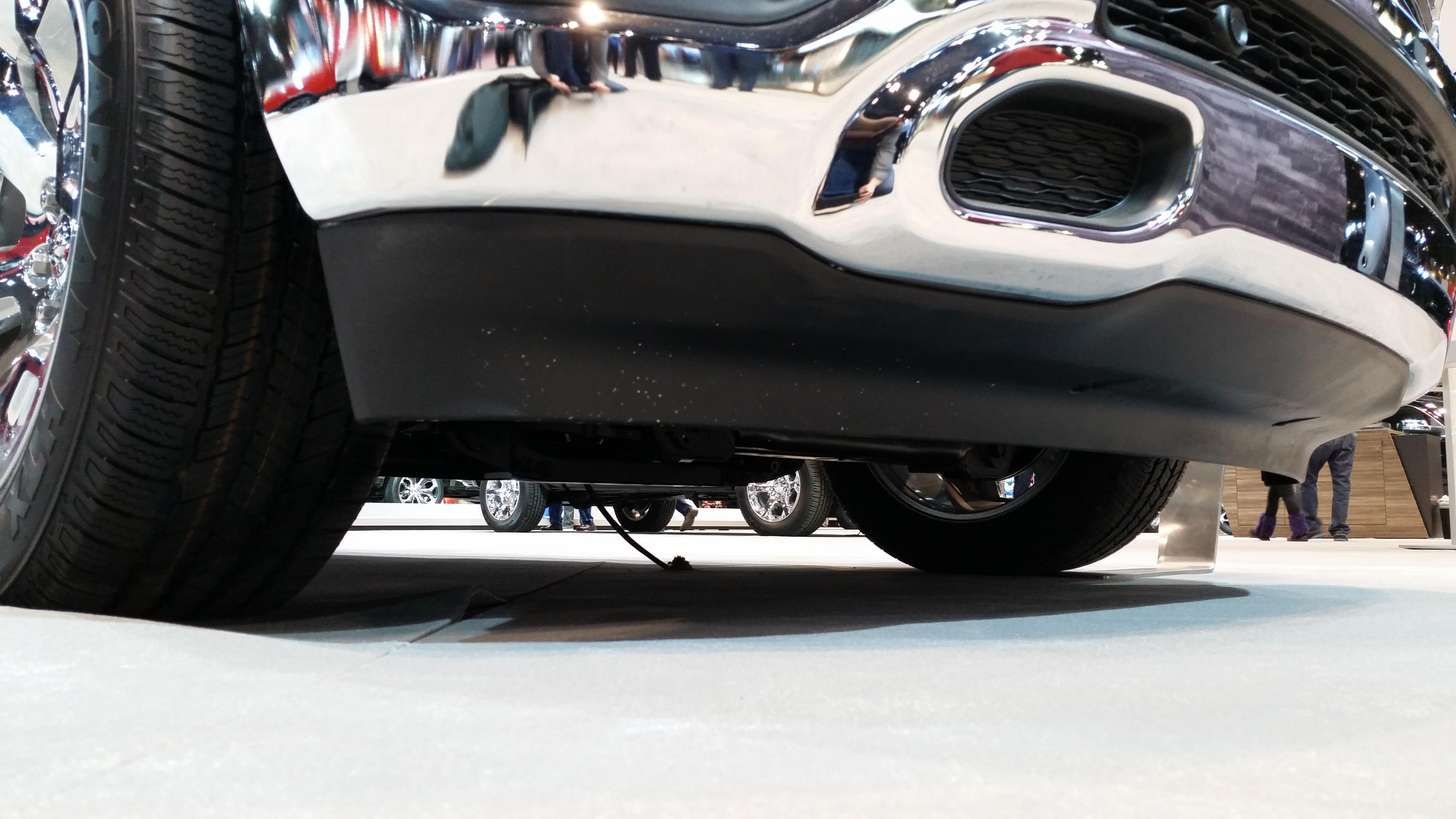 Aerodynamic Details From The Chicago Auto Show Picture