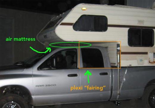 4 Mpg Gain From Mod For Slide In Camper Pickup Truck