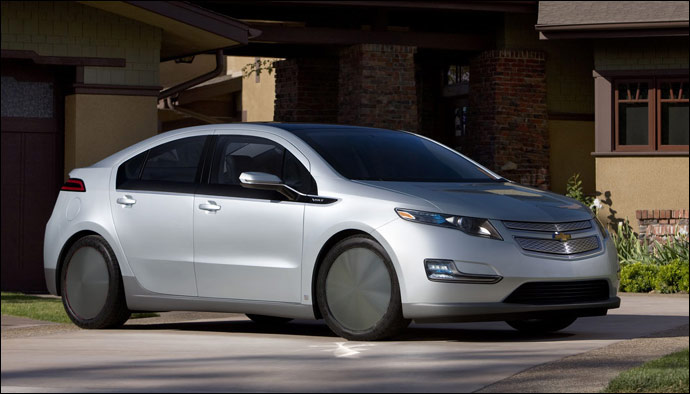 Photoshop fun: GM Volt with racing disc wheel covers (and ...